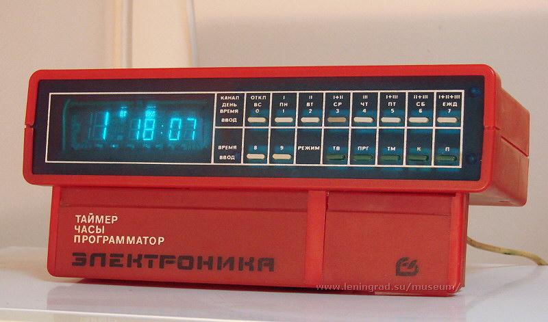 Таких часов-программаторов я еще не видел.  В смысле, редкая модель.  1993-й год.  Если в те сложные годы (начиная...