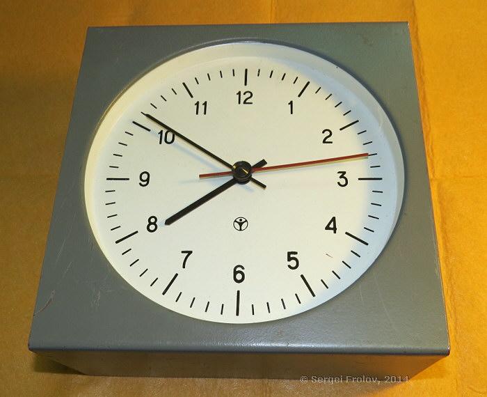 Это вторичные часы.